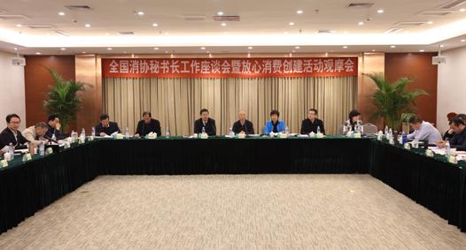 中消协召开部分省市秘书长工作座谈会